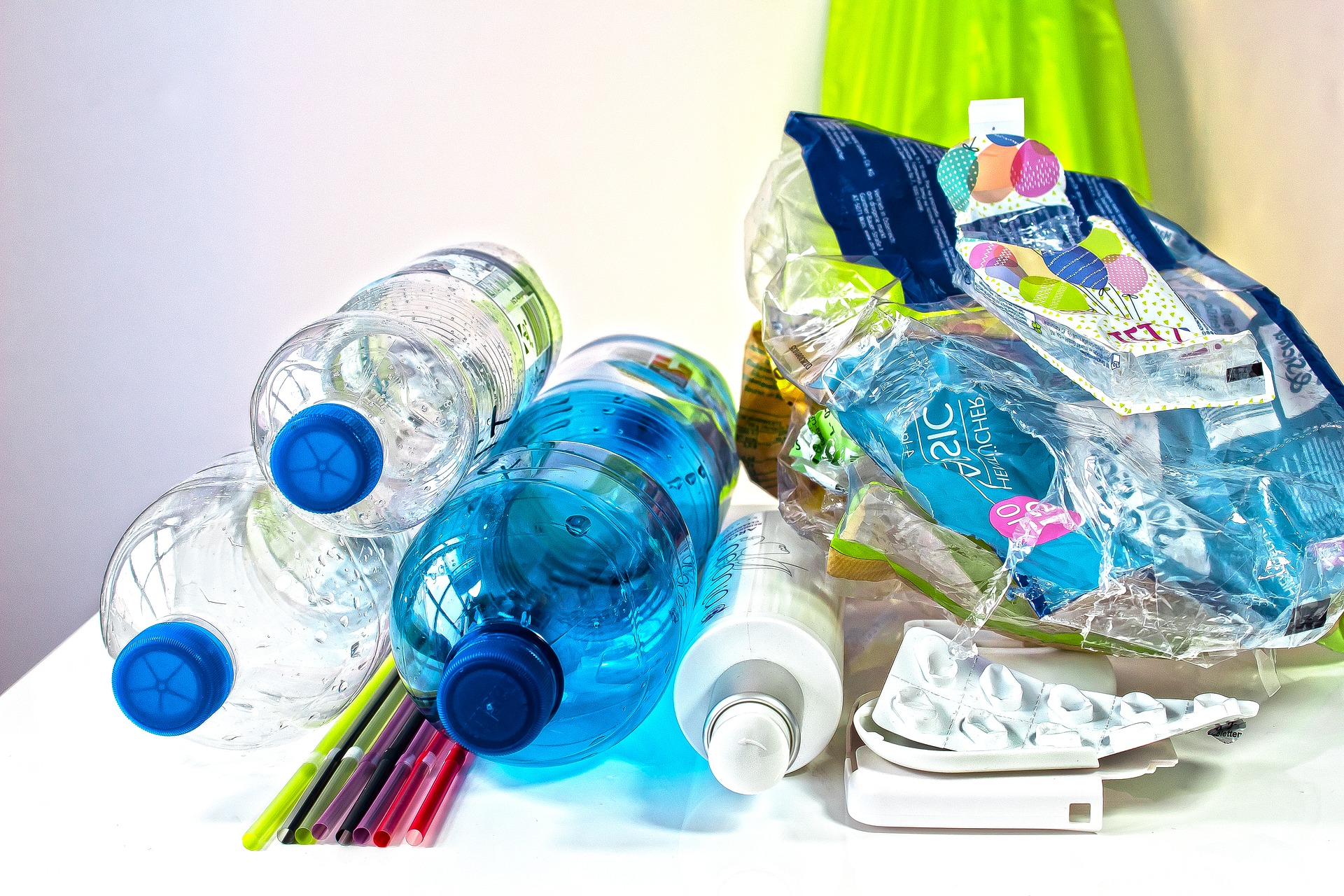 déchets platiques