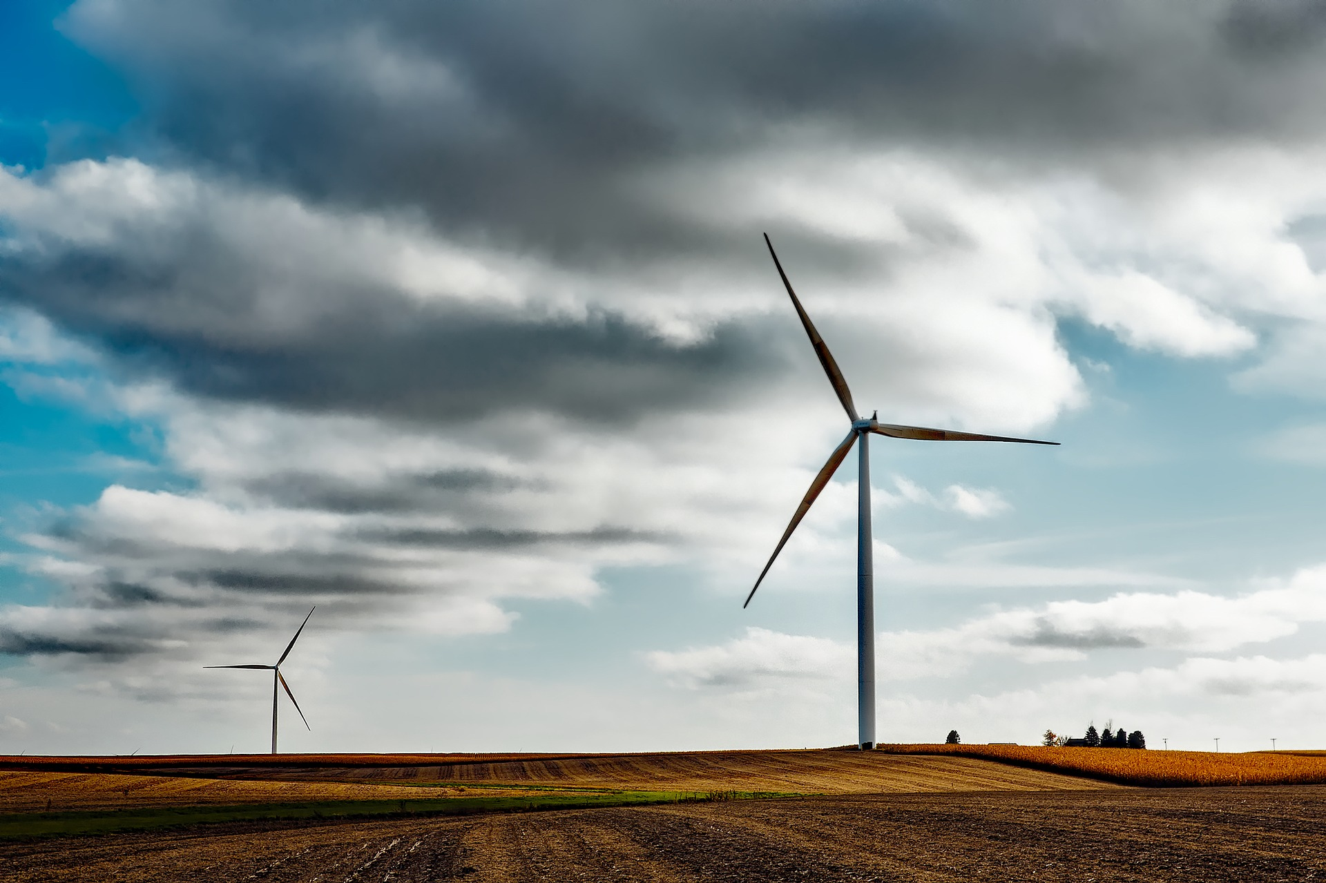 Image d'éoliennes