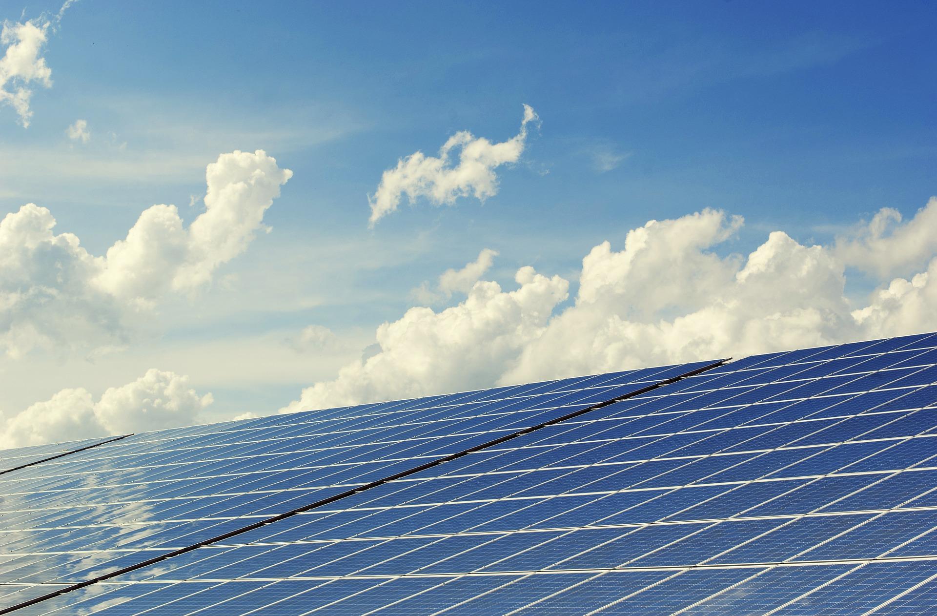 Image de panneaux photovoltaïques