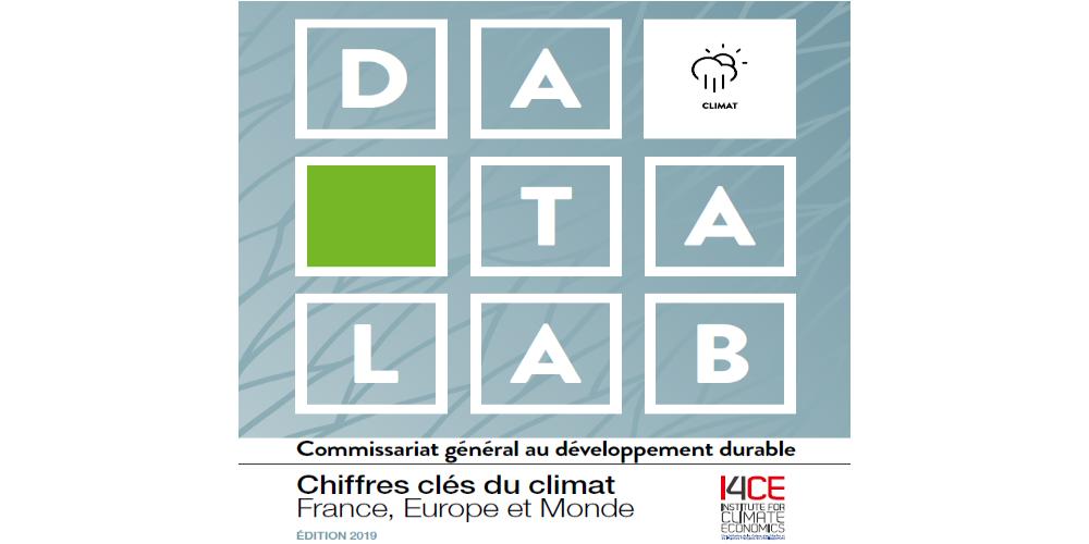 Vignette datalab chiffres clés climat 2019