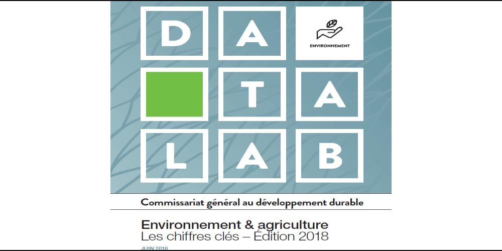 Vignette datalab chiffres clés environnement agriculture 2018