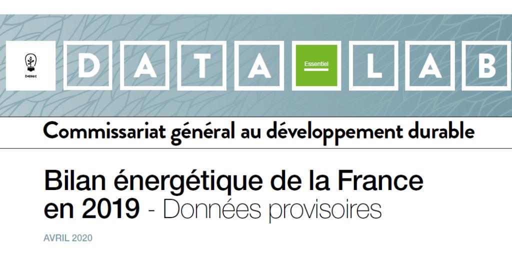 Vignette bilan energetique France 2019