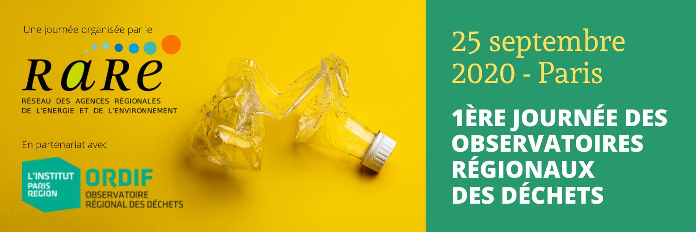 Journée des observatoires régionaux des déchets