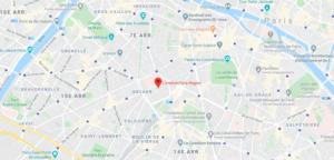 Carte Institut Paris Region