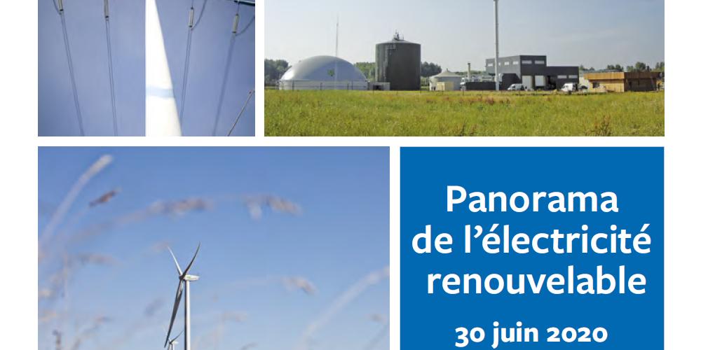 Couverture electricite renouvelable France