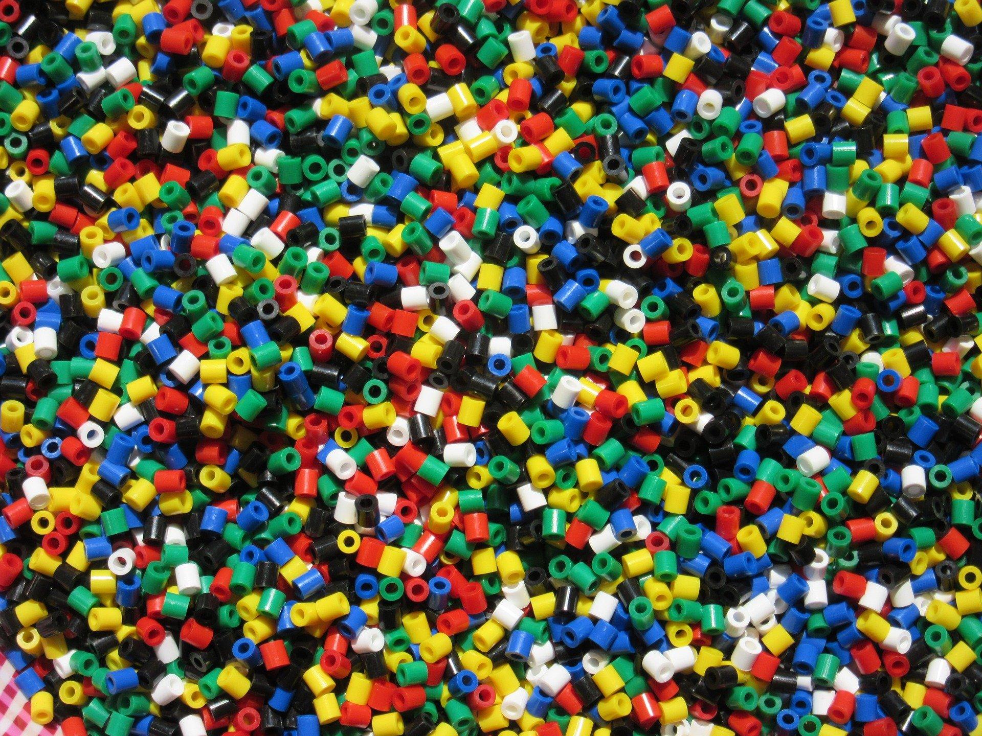 Perles plastique