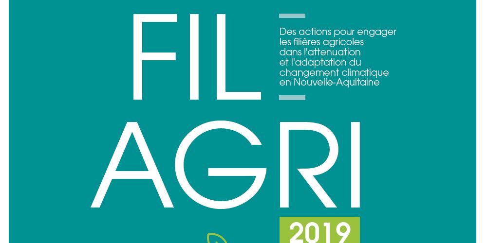 CLIMAFILAGRI secteur agricole et transition energetique